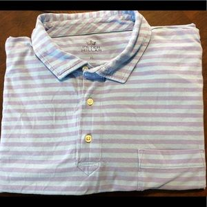 Large - Peter Millar - Seaside Wash - Golf Shirt